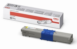 Mực in Oki C510 Yellow Toner Cartridge